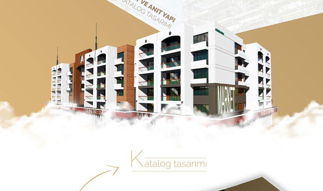 Büsa inşaat katalog tasarımı ve sosyal medya