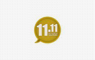 11.11 solutions web sitesi tasarımı ve logo tasarımı