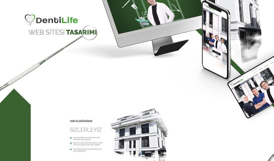 web sitesi arayüzü