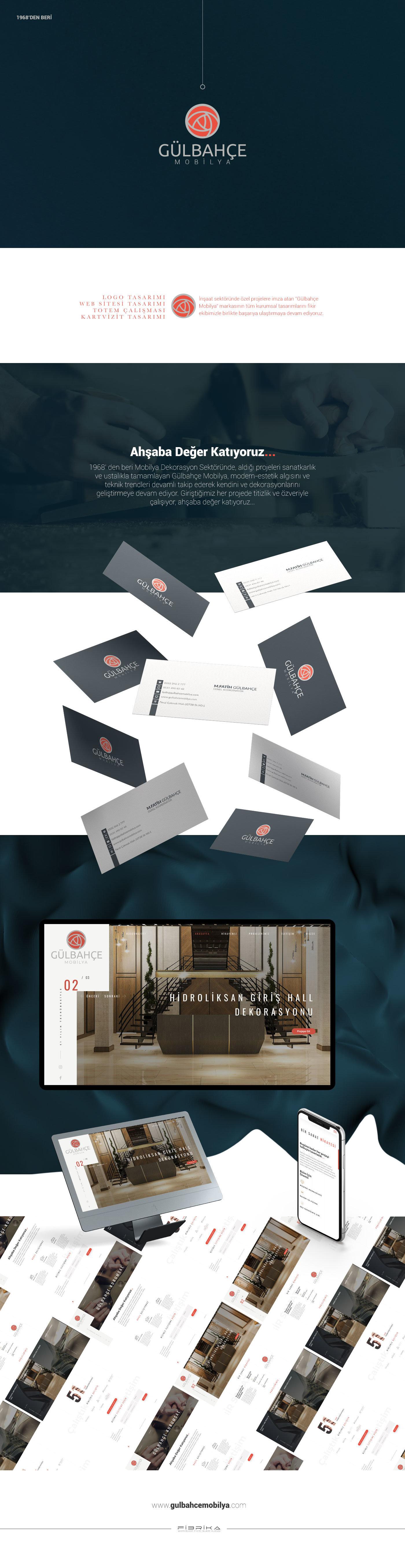 Web sitesi, kartvizit tasarımı, logo tasarımı